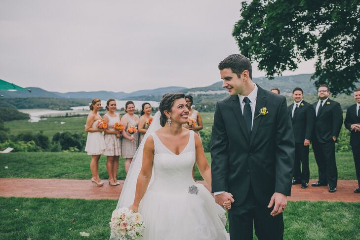 Cora Piselli (29 and a physician assistant) and Brian McLean (31 and a physical therapist) met in graduate school living across the hall from each oth