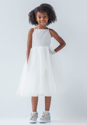 La Petite by Hayley Paige 5925-Flora Ivory Flower Girl Dress