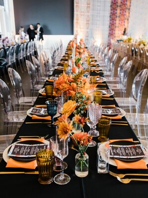 Eclectic Black and White Reception