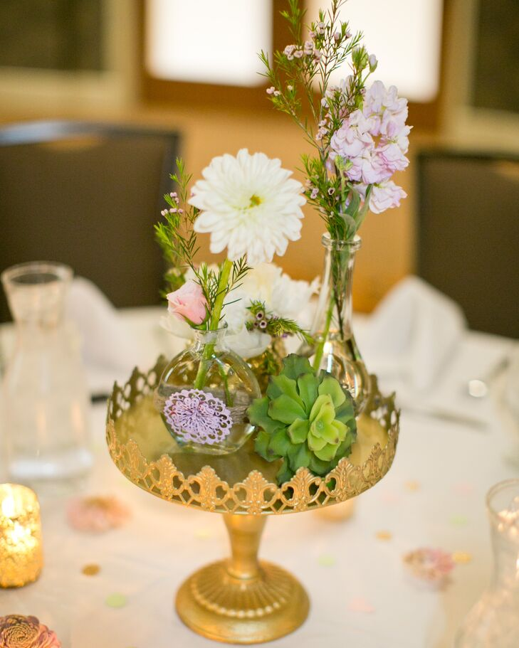 A Romantic Gold And Pink Wedding At SpringHill Suites In
