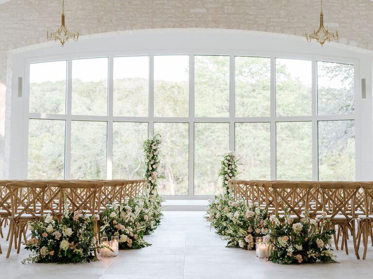 Wedding venue in Canyon Lake, Texas.