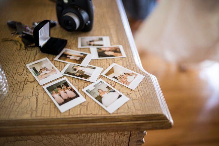 Bridal Party Polaroids