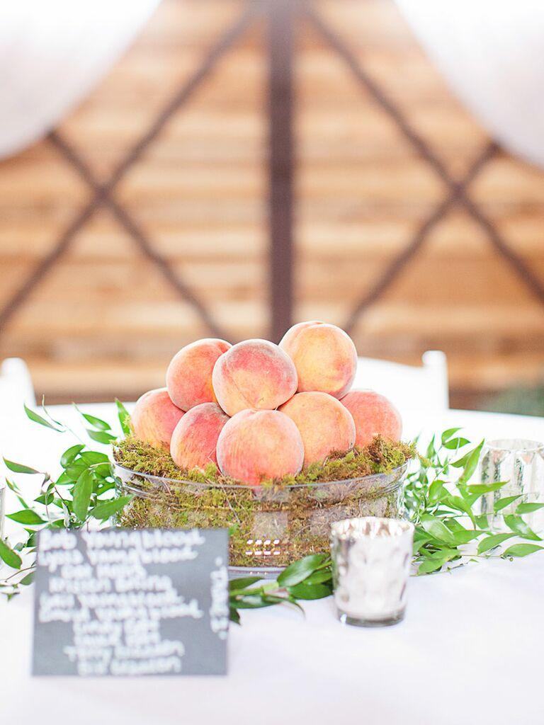 Fall non-floral centerpiece ideas for your wedding