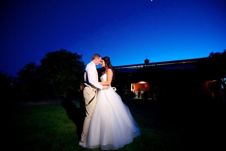Vanessa and Jonathan on Wedding Night