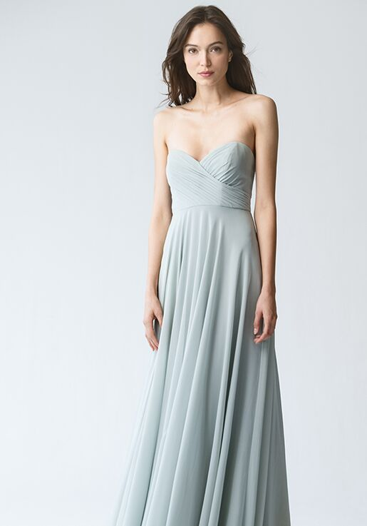 8cf6bc68705 Jenny Yoo Collection (Maids) Adeline  Morning Mist   1781 Sweetheart Bridesmaid  Dress