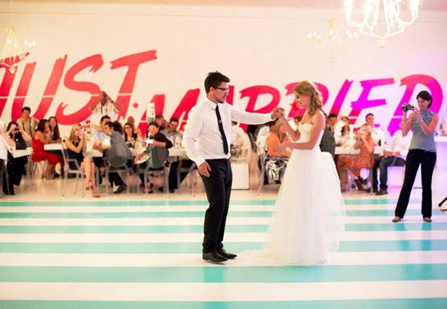 Striped Dance Floor