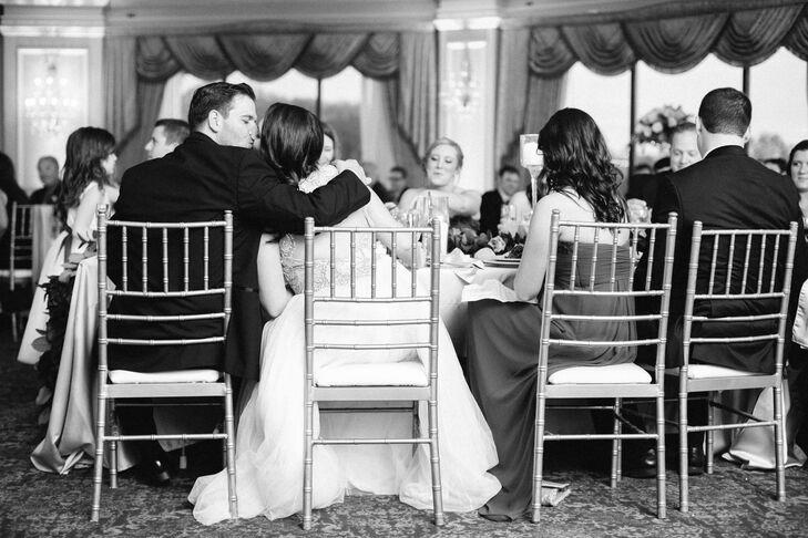Tara and Adam wedding Reception Moment