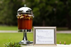 Sangria Signature Wedding Cocktail