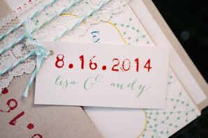 Wedding Date on Creatively Designed Invitations