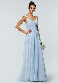 Kleinfeld Bridesmaid KL-200128 V-Neck Bridesmaid Dress
