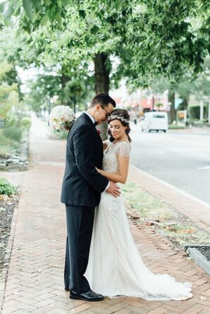 Art Deco-Inspired Maggie Sottero Gown
