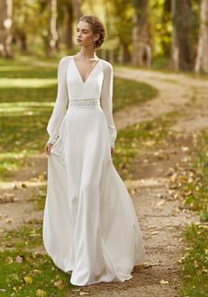 Aire Barcelona KAREL Sheath Wedding Dress