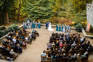 Outdoor Woodland Same-Sex Ceremony