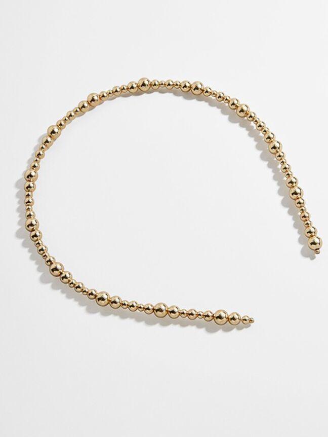 Gold bubble headband