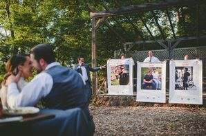 Personalized Speeches at Redwood Wedding