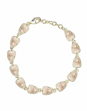 Kendra Scott Susanna Link Bracelet in Rose Quartz Wedding Bracelet photo