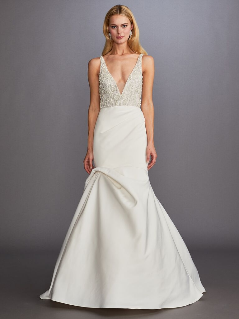 Allison Webb romantic sexy wedding dress