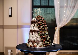 Two Sisters Cafe Chocolate Wedding Cake