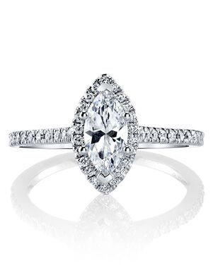 MARS Fine Jewelry Classic Marquise Cut Engagement Ring