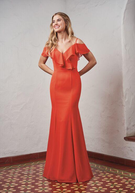 JASMINE P216051 Off the Shoulder Bridesmaid Dress
