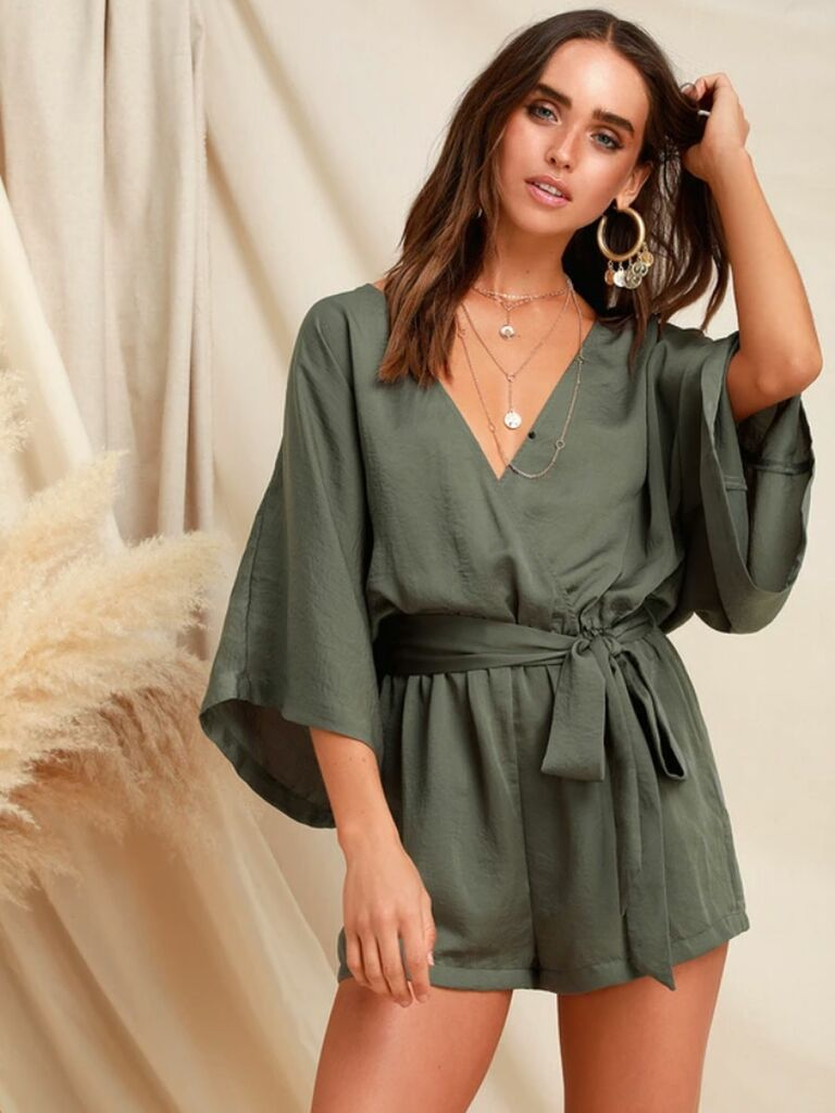 93d3cc8e6c88 Can t decide between a robe and a romper  Go with this chic hybrid.