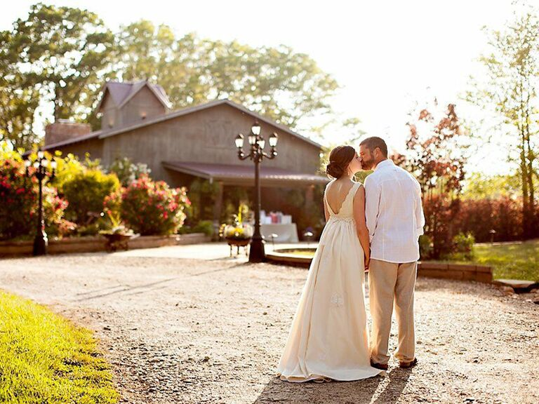Asheville wedding venue in Candler, North Carolina.