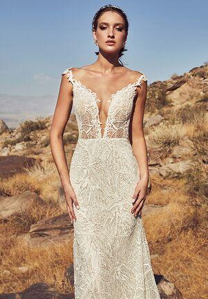 Calla Blanche 19121 Lena Sheath Wedding Dress