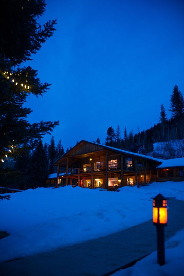 A Winter Wedding Reception in Colorado