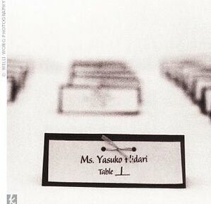 The Escort Cards