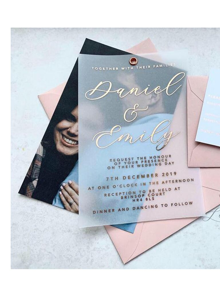 21 Unique Wedding Invitations That'll Stand Out In The Mail