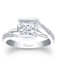Barkev's Princess Cut Engagement Ring