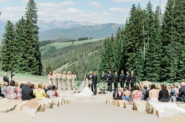 Mountain Wedding Ceremony at Saddleridge at Beaver Creek