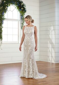 Essense of Australia D3000 Sheath Wedding Dress