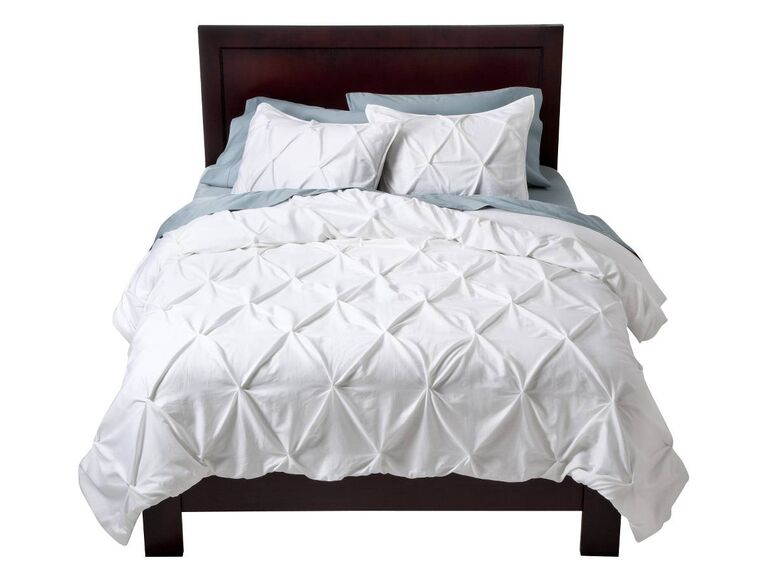 Quilted duvet cover from Target