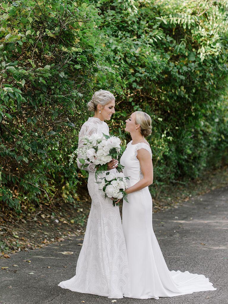 The Knot Dream Wedding couple 2017: Elena Delle Donne and Amanda Clifton