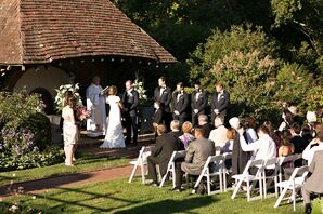 Waveny House Rose Garden Ceremony