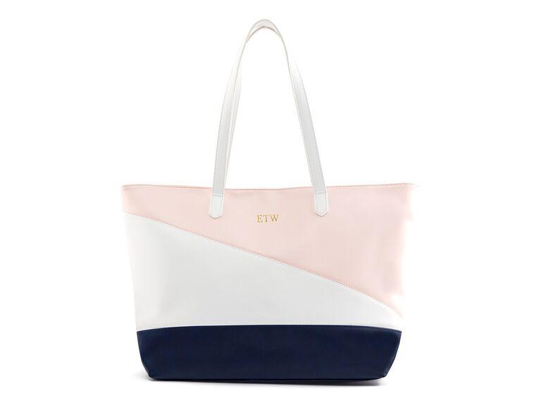 Stylish tote bag for bridesmaids