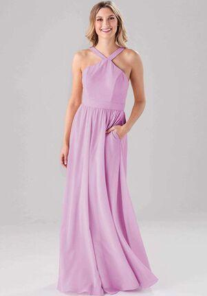 Kennedy Blue Miranda Halter Bridesmaid Dress