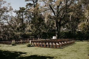 Wedding Ceremony at Wrightsville Manor in North Carolina