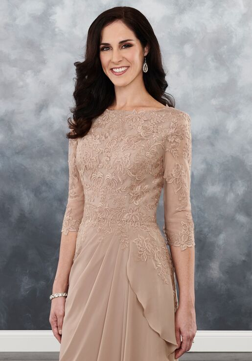 Beautiful Mothers by Mary's MB8020 Black Mother Of The Bride Dress