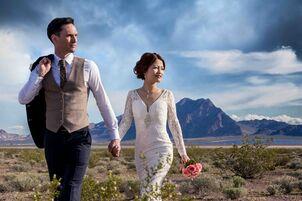 Best Las Vegas Wedding Photography Pictures M Resort Photographer Pool