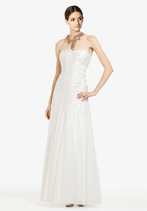 BCBGMAXAZRIA Magnolia Strapless Gown NST6P904-A1D Wedding Dress ...