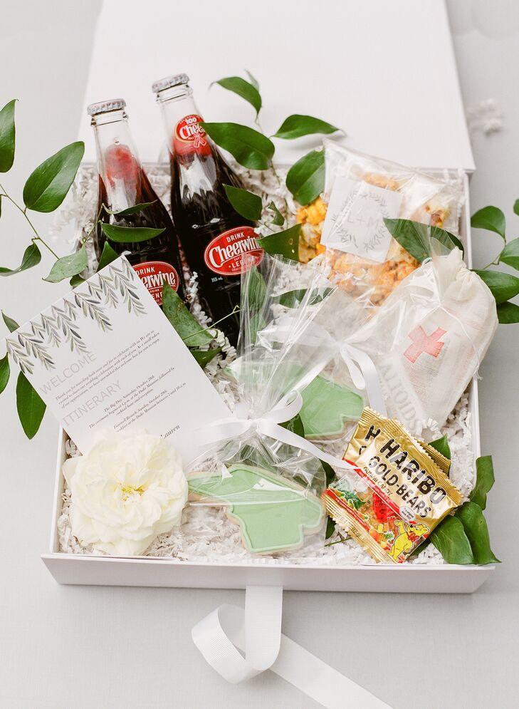 Custom Welcome Kits with North Carolina–Shaped Cookies
