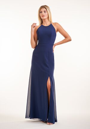 JASMINE P226001 Halter Bridesmaid Dress