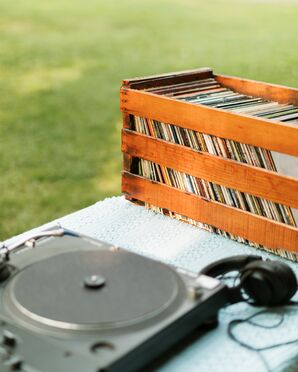 Music from Vintage Vinyl at Reception