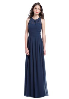 Bill Levkoff 1165 Illusion Bridesmaid Dress