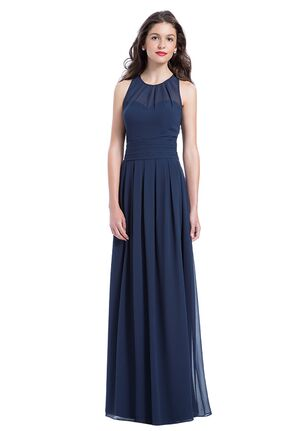 Bill Levkoff 1165 Illusion Bridesmaid Dress