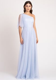Jenny Yoo Collection (Maids) Mallory One Shoulder Bridesmaid Dress