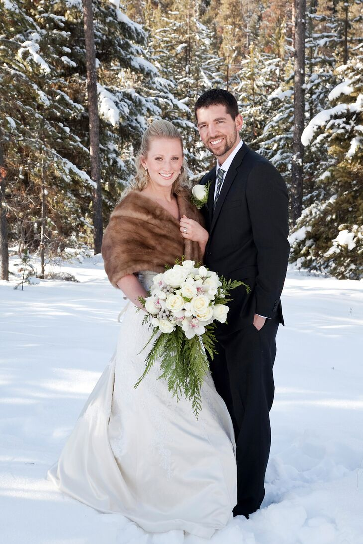 Bryanna and Matthew's Winter Wedding in McCall, Idaho