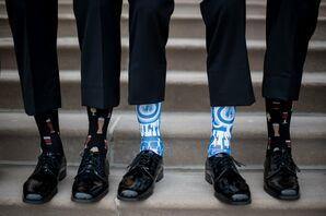 Funky Socks for Groom and Groomsmen